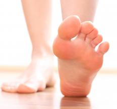 Stress fractures may cause foot pain in the heel.