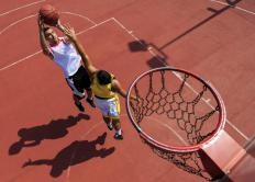 Basketball players who have a good jump shot often have the advantage over their opponents.