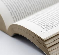 Thermal binding is a method used to make paperback books wherein pages are glued into the spine.