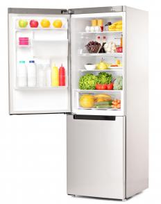Smart refrigerators sense the products that are stored inside.