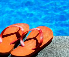 A day of relaxing in a pool may constitute a last minute vacation.