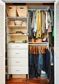 A major part of spring cleaning may be to organize closets and get rid of junk.