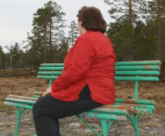 People can view Old Faithful eruptions from park benches stationed 300 feet away.