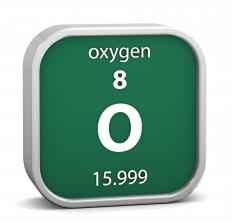 Today, air contains approximately 20 percent of elemental oxygen.