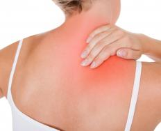 Poor posture may cause shoulder pain.