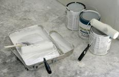 Primer can be applied with paint brushes or rollers.