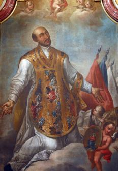 The Yaqui were heavily influenced by the Jesuits, the religious order created by St. Ignatius Loyola.