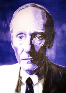Writer William S. Burroughs used the concept of found art to create poetry.