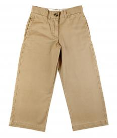 Khaki pants, which are often work with boat shoes.