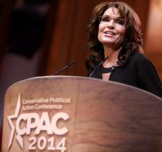 CPAC often includes potential presidential candidates, such as Sarah Palin.