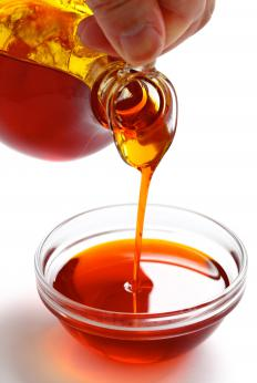 Palm oil is often used in nondairy topping.