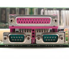 Some breakout boxes are designed for use with the serial or parallel ports of computers.