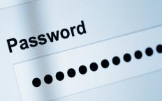Screen names are typically password protected.