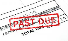 When a past due account is deemed uncollectable, it is written off as bad debt by the creditor.