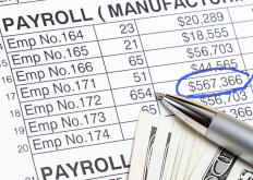 A payroll trainee processes employee wage payments and makes any necessary deductions to cover taxes and other costs.