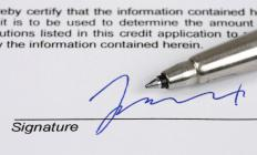 Signature affidavits can be used as part of processing loan paperwork.
