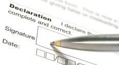 A W-4 form requires a sworn signature, ensuring all of the information is accurate.