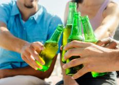 Someone with an emotional disorder may rely on coping mechanisms such as drinking.