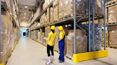 Warehousing and transportation of goods are part of operating costs.