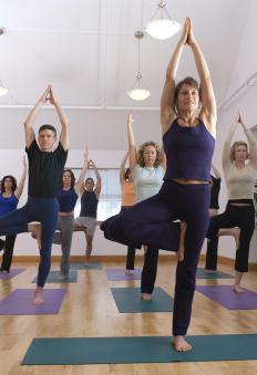 Yoga and meditation centers may help reduce stress and anxiety.