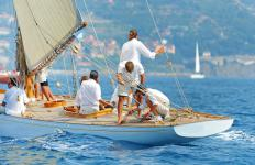 Yachts are sometimes rented through a bareboat charter.