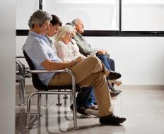 A waiting room is one type of anteroom.