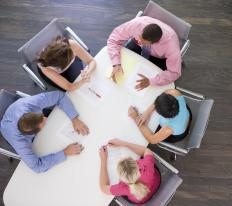 Boardrooms are available in various sizes, including the very small which can usually seat around 6 people.