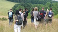 It is safer to hike in groups.