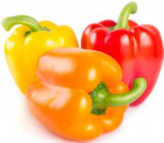 Certain vegetables, like peppers,  are considered fibrous carbohydrates, which are categorized as complex.