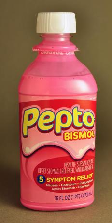 Pepto-Bismol can help treat diarrhea.