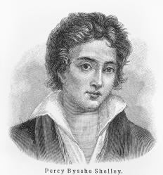 Percy Bysshe Shelley was a well-known British poet from the Romantic era.