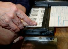 Process servers are fingerprinted during the licencing process.