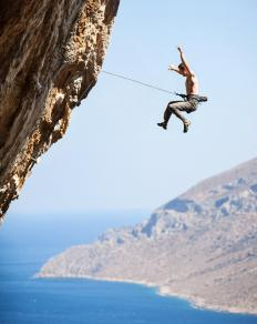Climbers use a modern form of a grappling hook.