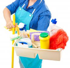 Cleaning products are often marketed to customers for a variety of uses instead of a single task.