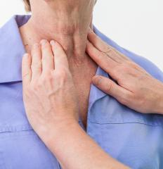 An enlarged thyroid gland may be referred to as a colloid goiter.