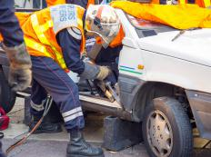 Chocks and bracing are frequently used by emergency rescuers during vehicle extrication.