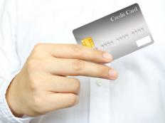 In order to accept a credit card, a merchant must first subscribe to a business credit card processing firm or network.