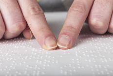 Some adaptive software can interpret braille text into a voice.