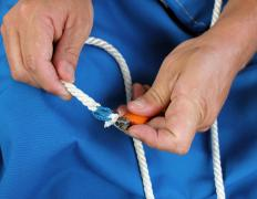 Rope may require splicing.