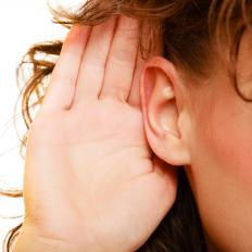 "Some people prefer to be referred to as ""deaf,"" while others prefer the term ""hard of hearing."""