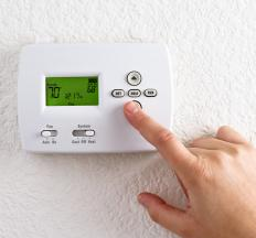 Using room heaters and fans rather than relying completely on central heating might save you money on heating.