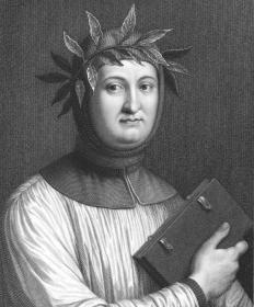 "Petrarch first used the term ""Dark Ages"" to describe the lack of cultural achievements of the time."