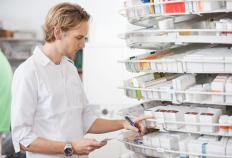 The periodic collecting and testing of products by employees in a pharmacy is a method of pharmaceutical quality control.