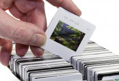 Slide scanners are able to reproduce digital images from photo slides.