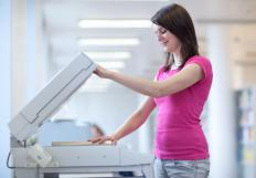 Photocopiers come in a variety of sizes.