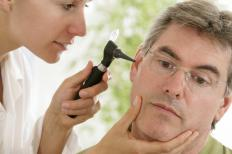 It may be necessary to seek a doctor's help if dealing with a serious ear wax blockage.