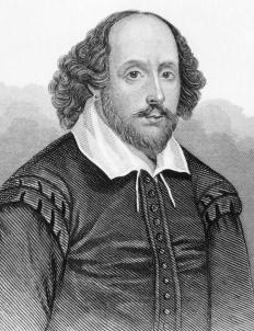 William Shakespeare created Falstaff for the plays Henry IV, Parts I and II.