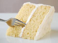 Vanilla cake's simplicity appeals to a wide variety of people.