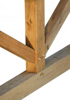 A mortiser is often used to cut mortises, or slots, in wood for mortise and tenon joints.