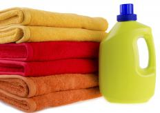 A hotel housekeeper is responsible for providing clean towels.